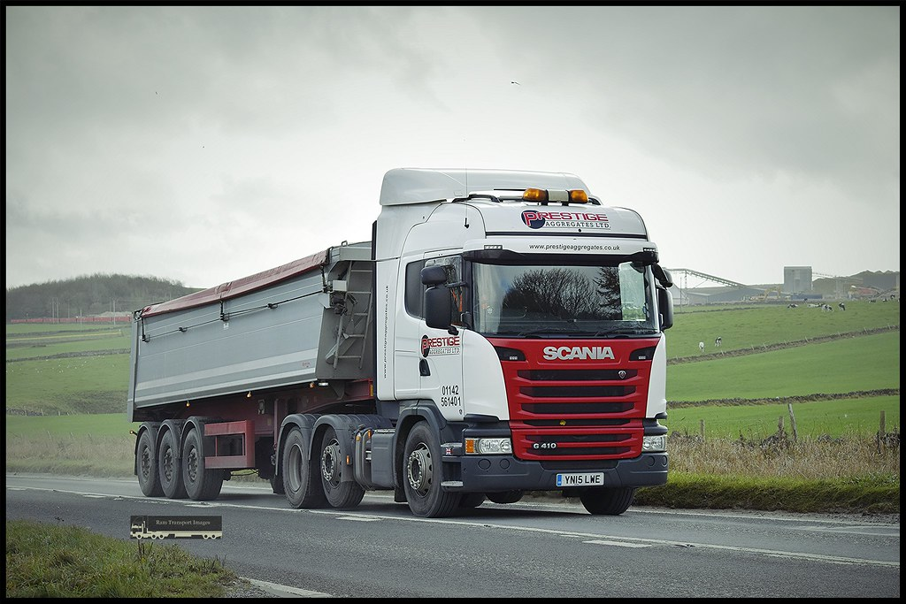 Scania G410,Prestige Aggregates Ltd | SteveJeffsson | Flickr