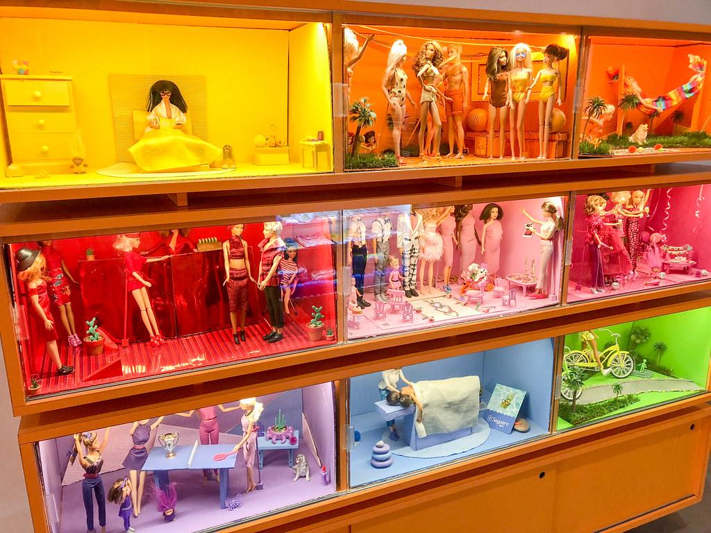 Barbie Display inside The Saguaro