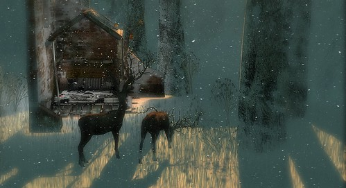 Snowflakes falling ... Santa will soon be calling