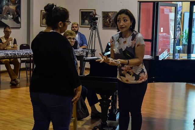 Master class Cristina Gallardo - Convención Lírica
