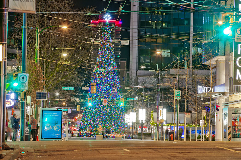 Vancouver Christmas Tree Lighting 2018