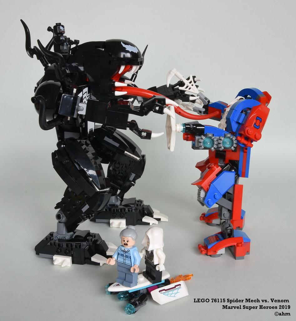 Venom LEGO Brand New LEGO-76115 Spider Mech vs