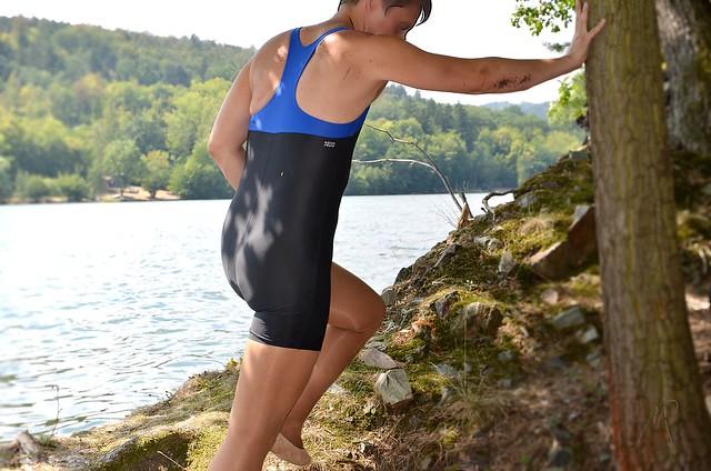 V nových plavkách / In new swimsuit