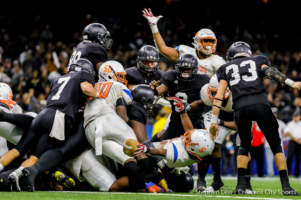 Oak Grove vs. Kentwood state football title game 2018