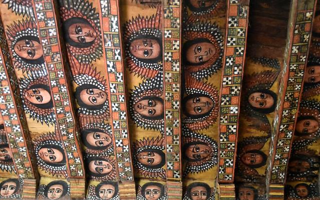 ETHIOPIE GONDAR Debre Berhan Selassie