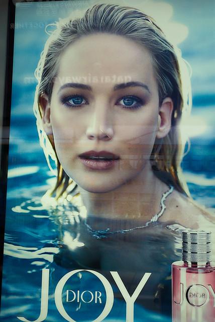 Jennifer Lawrence is still a dior girl
