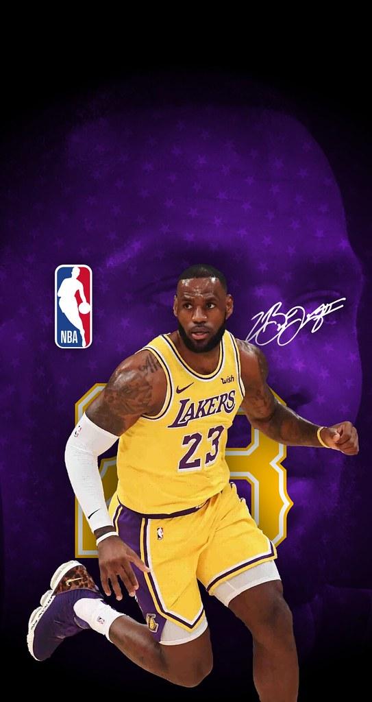 6d263faa2fbf ...  23 LeBron James (Los Angeles Lakers) iPhone 6 7 8 Wallpaper