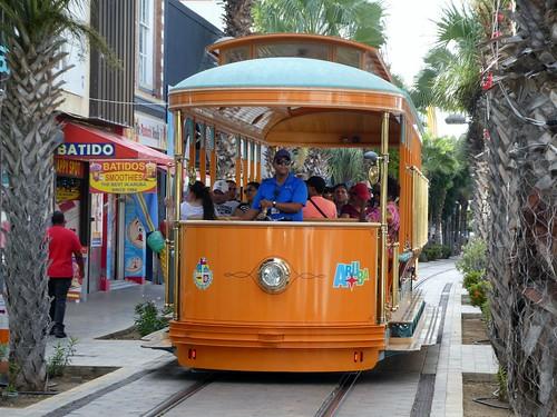 aruba arubastreetcar oranjestad oranjestadstreetcar arubatrolley arubatram oranjestadtrolley oranjestadtram trolley streetcar tram cruising cruise carnivalcruiseline caribbeansea caribbeancruising caribbeanisland