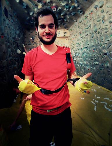 Fantasyclimbing corso di arrampicata il deposito di zio Paperone 19