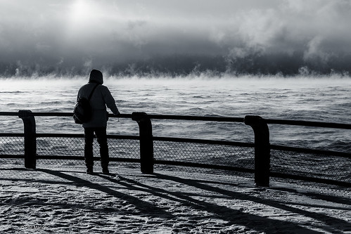 Watching the sea smoke at -22*C | by Phil Marion
