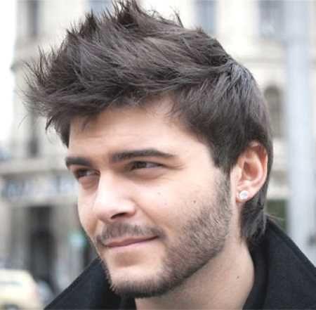 Mann geheimratsecken frisur Frisuren Für