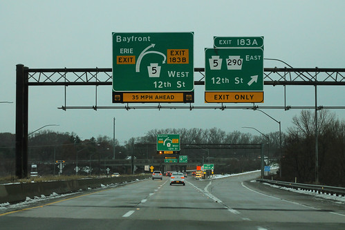 I-79 North - Exit 183AB - PA5 PA290 | by formulanone