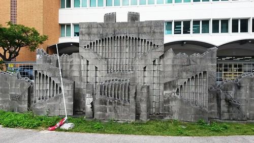 Mauerkunst in Naha