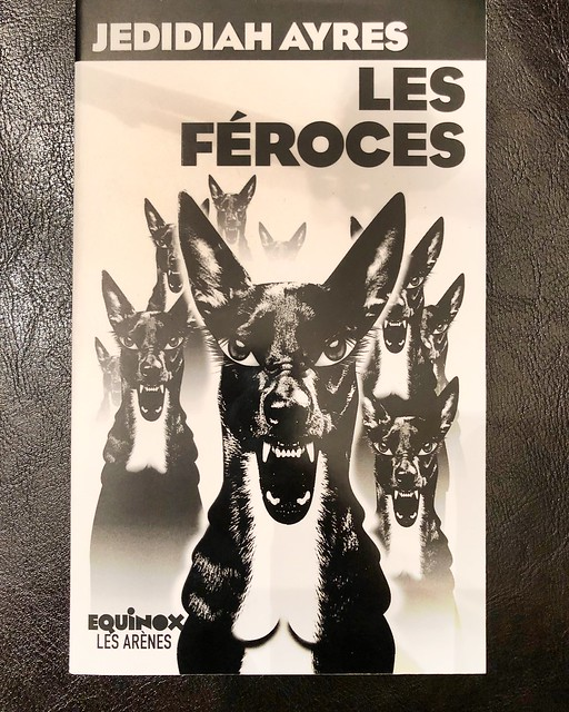 A good mail day when a friend sends you their first book to have been translated into French with a personal inscription.