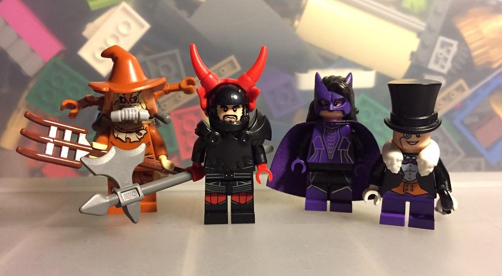 Lego DC figs 5