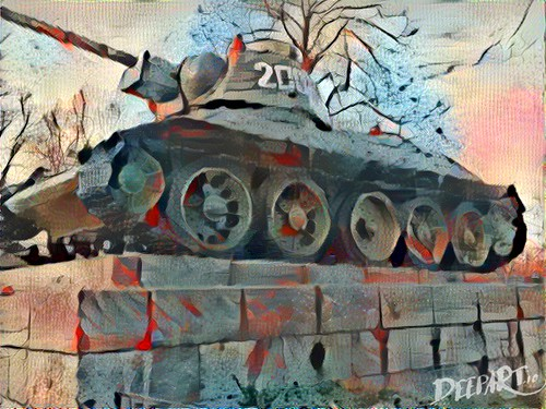 T34 by Deepart | by DaveLevy