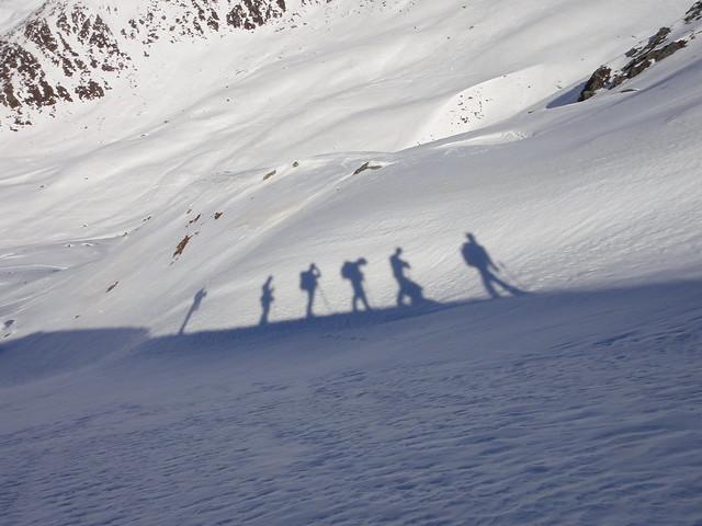 Stubaier Alpen, Sneeuwschoencursus