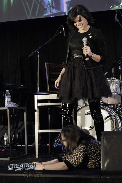 Creation Entertainment's Once Upon A Time Tour, Burbank, CA with Lana Parrilla panel.