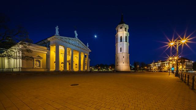 Vilnius Cathedral :: Blue Hour