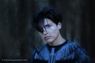 hair blowing in the wind | by edoardo.gobattoni