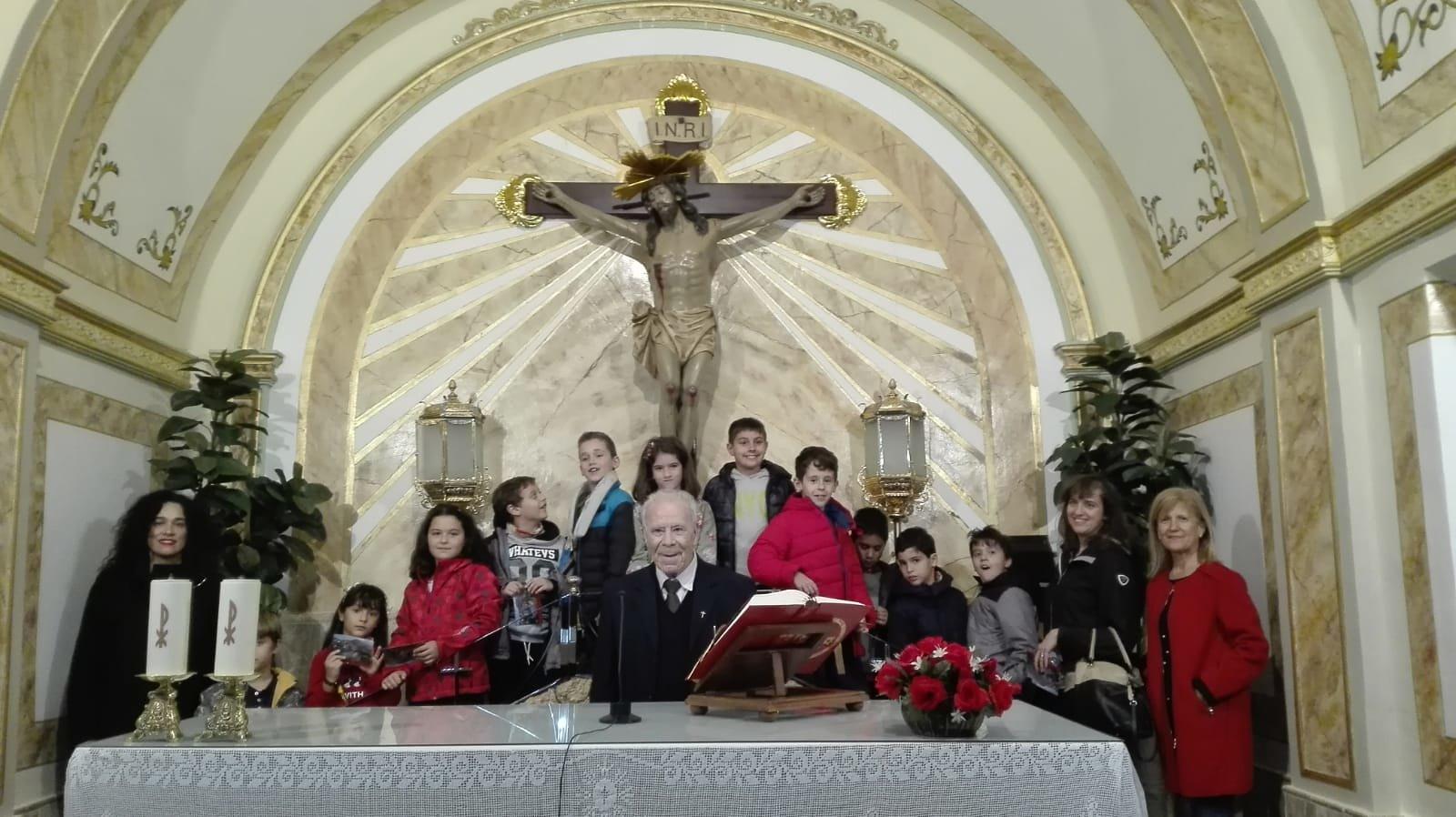 (2018-11-23) - Visita ermita  Esther-Maria Mercedes,2º,Catequesis - Vicente Rico (02)