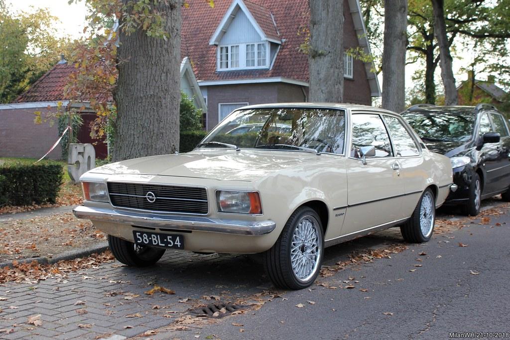 Opel Rekord 1700 1974 (58-BL-54)
