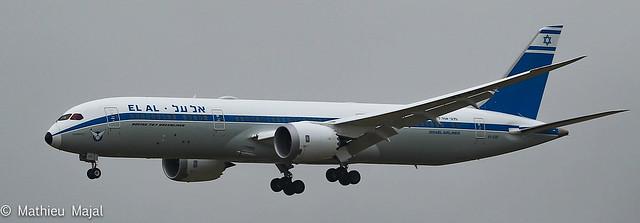 Boeing 787-9 Dreamliner  / El Al Israel Airlines (70th Anniversary Retro)