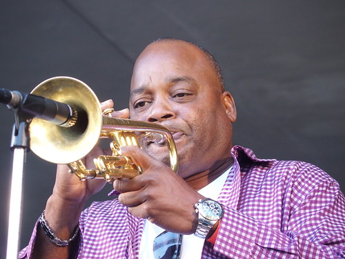 James Andrews at Treme Creole Gumbo Fest - 11.17.18. Photo by Michele Goldfarb.
