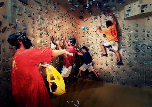 Fantasyclimbing corso di arrampicata il deposito di zio Paperone 9