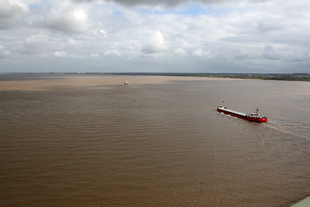 The Humber from the Humber Bridge