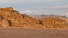 French Fortress in the Wadi Rum desert