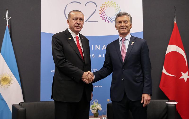 Reunión Bilateral - Mauricio Macri y Recep Tayyip Erdoğan