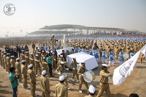Nirankari Band in Sewadal Rally