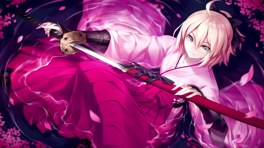 Fate Sakura Saber Anime Live Wallpaper Fategrand Order Is