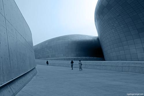 Dongdaemun Design Plaza (Seoul, South Korea)   by rogelio g arcangel