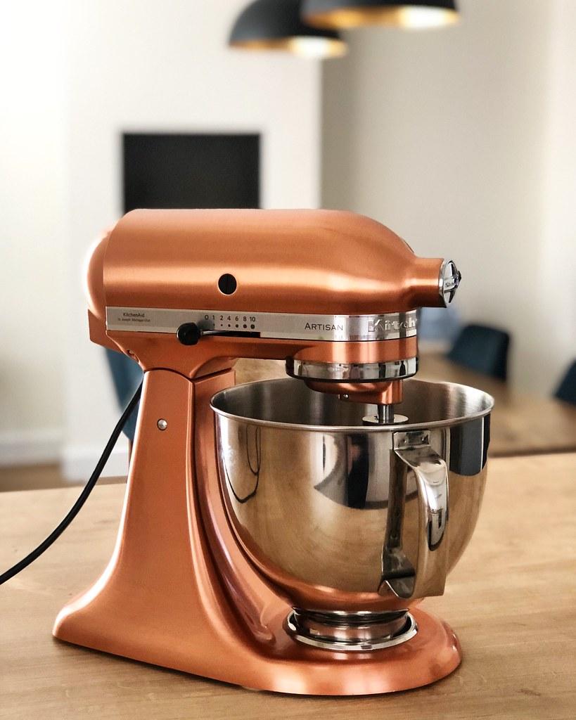Copper Kitchenaid Mixer Www Parislovespastry Com 2018 12 H Flickr