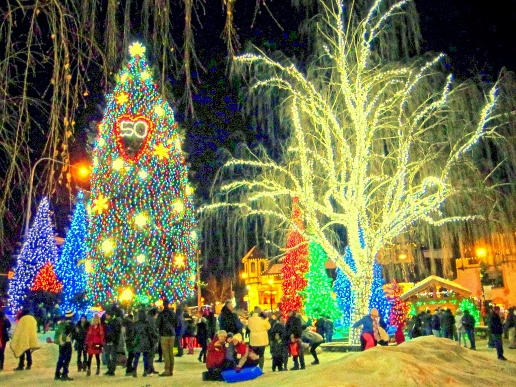 Leavenworth Christmas Lights.Christmas Lights Leavenworth Washington Dec 25 2016