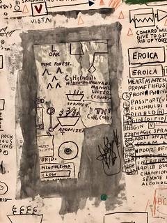 Extrait de Sans titre, 1987, Jean-Michel Basquiat