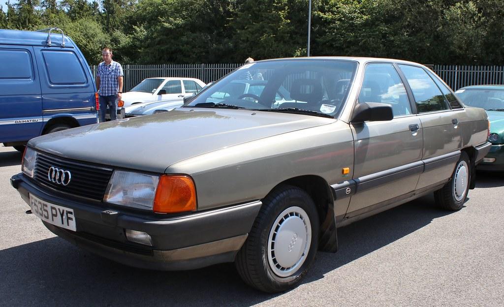 F535 PYF | 1989 Audi 100 2.2E. East Anglian Motor Auctions ...