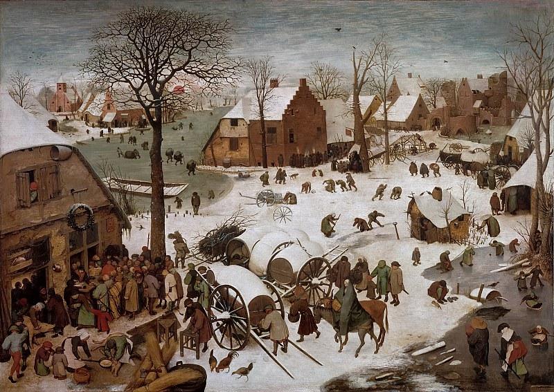 Перепись в Вифлееме, 1566