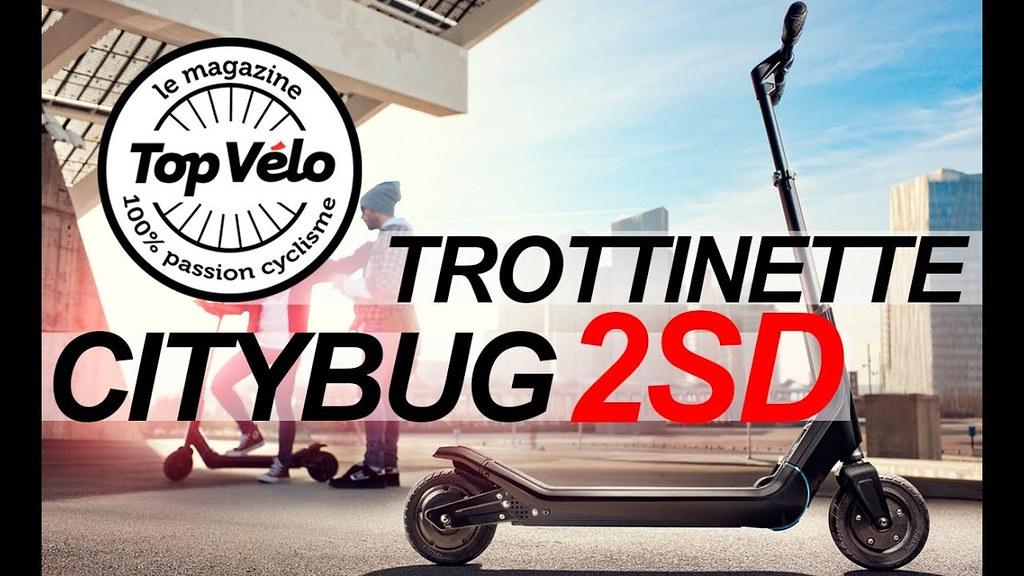 trottinette lectrique citybug 2sd rapide et pratique av. Black Bedroom Furniture Sets. Home Design Ideas