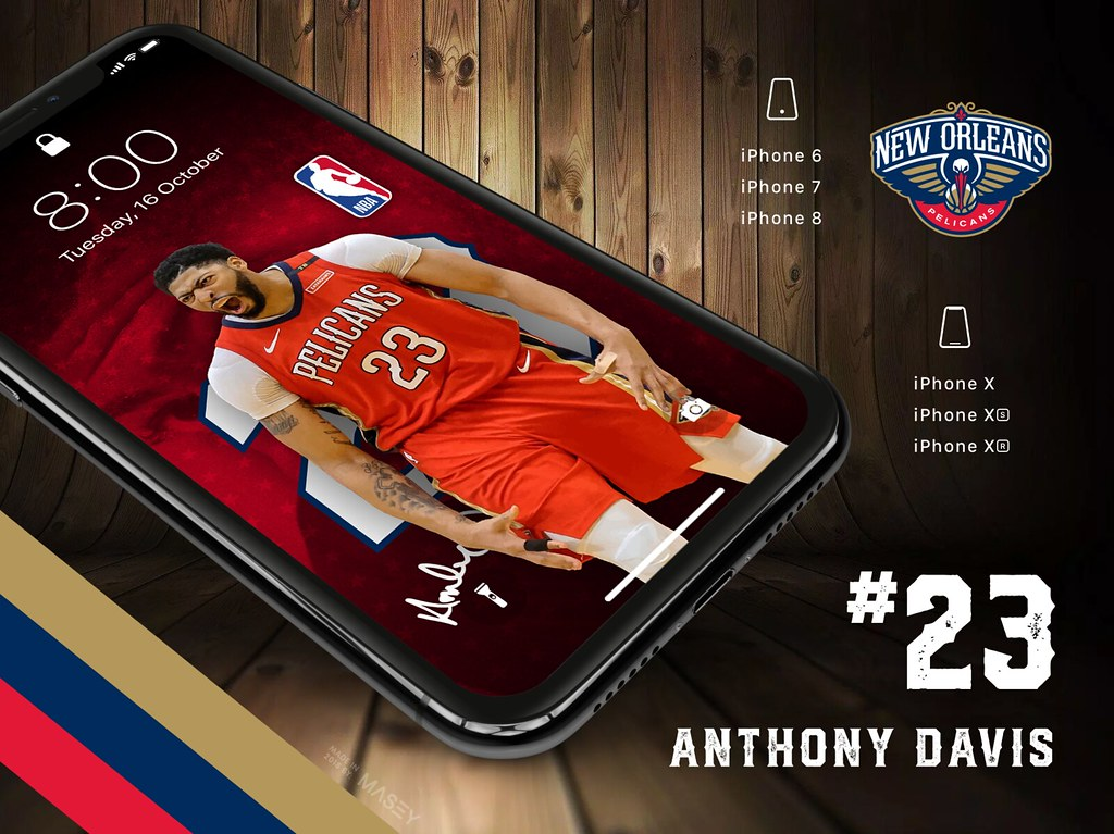 23 Anthony Davis New Orleans Pelicans Iphone Wallpapers Flickr