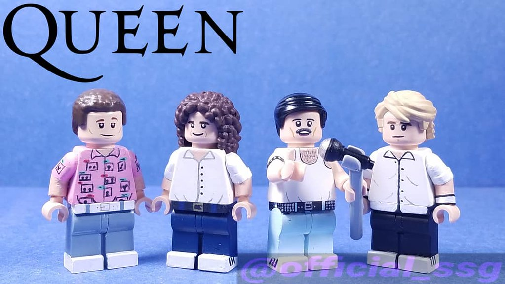 Image result for lego freddie mercury