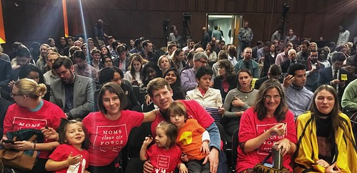 Solving Our Climate Change Crisis Town Hall | by Moms Clean Air Force