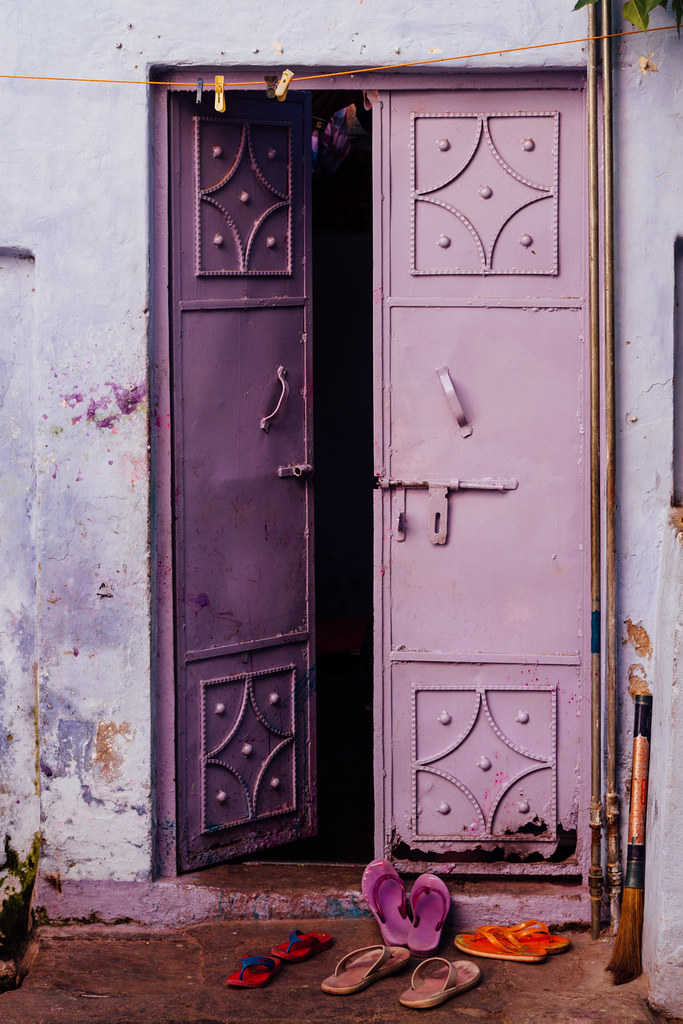 ... Purple Door, Kanpur India | By AdamCohn
