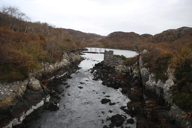 River into Loch Roe
