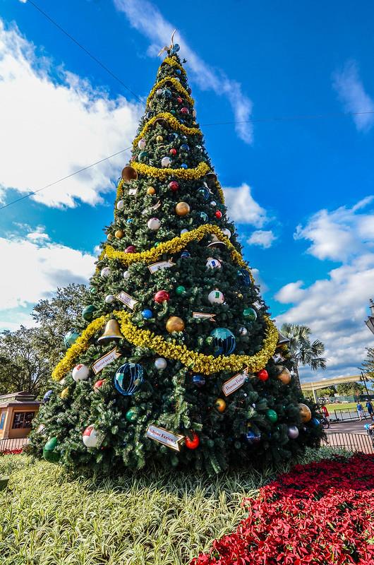 Christmas Tree day Epcot