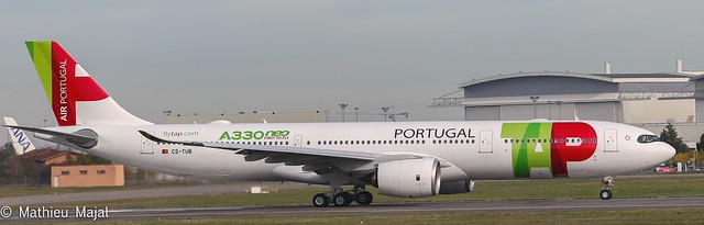 Delivery of the first A330Neo to its customer (TAP), first user of the 330Neo