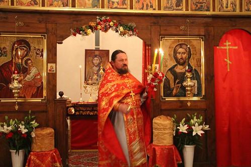 Пасхальное Богослужение в Свято-Никольском храме станицы Кавказской IMG_1393