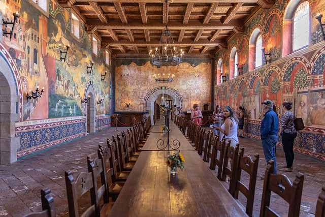 The Grand Room at Castelo di Amorosa